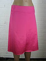 Спідниця жіноча атлас рожева 42,46,48.