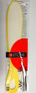 Терка педикюрная Hitomi 100/180 двостороння