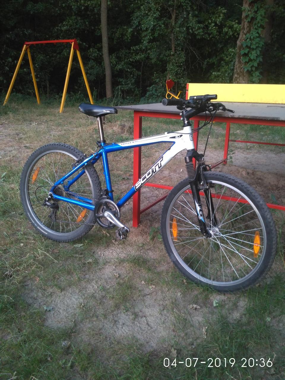 "Велосипед Scott Reflex-60 h45 aluminiumm колеса ""26 Shimano Diore LX Германия"