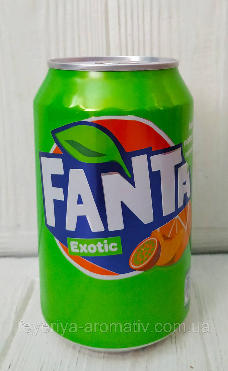 Газированный напиток Fanta Exotic 330мл (Дания)