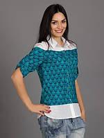 Отличная женская блуза из штапеля