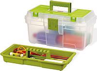 """Ящик для инструментов 16"""" Classic Hobby Green Top (40 см) Keter (17182281)"""