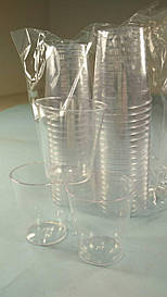 Стопка стеклоподобная (без ножки) 40 гр (40 шт)