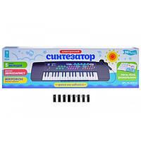 """Детский синтезатор с микрофоном,Піаніно """"Синтезатор"""" PL 3737,ноты,песни"""