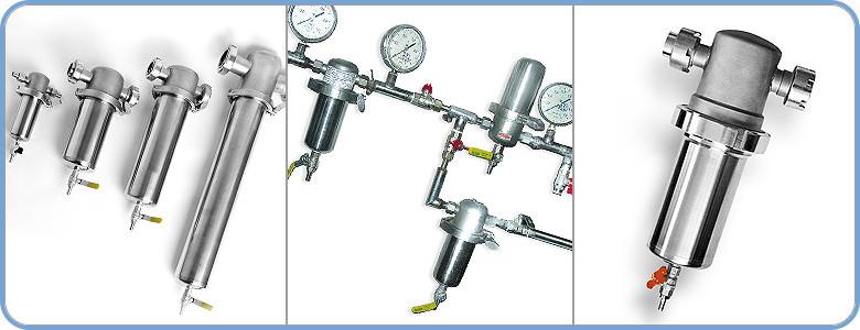 Фильтры очистки газов ФСВ-М, ФСВ-Ф