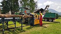 Процессор для производства дров UNIFOREST TITAN 43/20 STANDARD с цепной пилой (Словения), фото 3