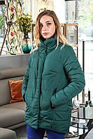 Жіноча зелена курточка (весна-осінь), фото 1