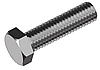 Болт М10х16 с уменьшенной шестигранной головкой кл. пр. 8.8, сталь ЦБ, полная резьба ГОСТ 7796-70