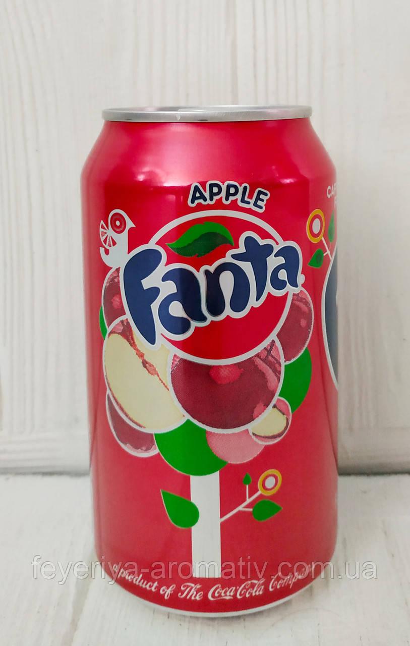 Газированный напиток Fanta Apple 355мл (США)