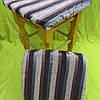 Чехлы на квадратные табуреты 33*33см (комплект) текстурная полоса