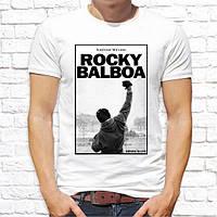 """Мужская футболка с принтом по мотивам фильма """"Рокки Бальбоа (Rocky Balboa)"""" Push IT"""