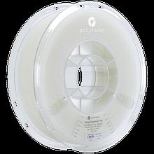 Пластик в котушці PLA PolyLite 1,75 мм, Polymaker, 1кг білий