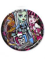 Ластик дет., кругл., Kite Monster High, 40х40мм, белая с рисунком