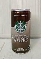 Кофейный напиток Starbucks Doubleshot Espresso + Milk 200ml (Дания)