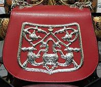 Черный кожаный мини-сэтчел через плечо от Prada. Original quality(зеркальная реплика)