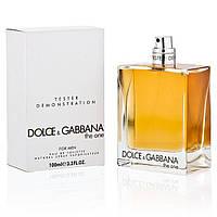 Тестер Dolce & Gabbana The One For Men (Дольче Габанна зе ван мен) ОАЭ, фото 1