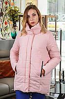 Женская куртка, цвет пудра (весна-осень)