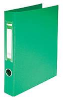 Папка 2 кольца А4, Buromax , картон твердый, 5см, зеленый