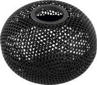 Подставка для скрепок магнитная, металл, круглая, черная, Buromax Шар