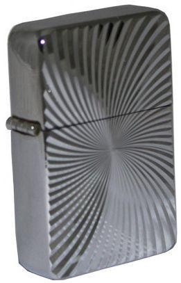 Запальничка на бензині Star 23617Star 3d малюнок сріблястий