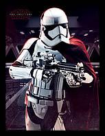 Постер Pyramid International Постер в раме Star Wars The Last Jedi (Captain Phasma Aim)/ Звёздные войны SKU_6081