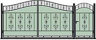 Ворота кованные модель ВКГ-02