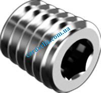 DIN 906 тип М, пробки резьбовые конические из нержавеющей стали с шестигранным углублением под ключ