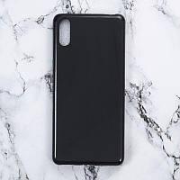 Чехол Soft Line для Sony Xperia L3 (I4312) силикон бампер черный