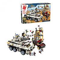 "Конструктор военный (аналог Лего) Brick 3209 Thunder Mission ""Военная спецоперация"" 930 дет"