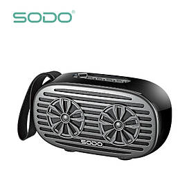 Беспроводная Bluetooth колонка SODO Z19 Black JKR | Оригинал | Гарантия