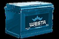 Автомобильный аккумулятор Westa 6ст - 65 Ah 640A (+справа/+слева)