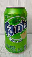 Газированный напиток содовая Fanta Green Apple 355мл (США)