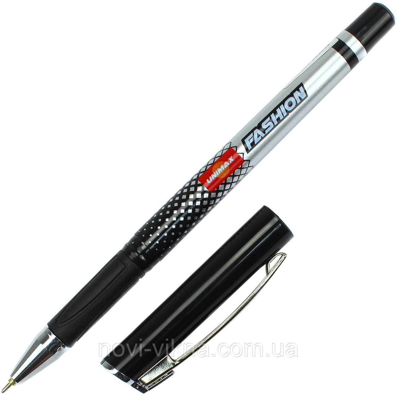 Ручка шариковая UNIMAX FASHION, черная.