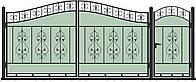 Ворота кованные, модель ВКГ-03