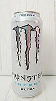 Газированный энергетический напиток Monster Energy White Ultra 500мл (Великобритания)