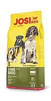 Сухой корм Josera JosiDog Lamb Basic для взрослых собак, с ягненком 18 кг