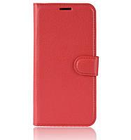 Чехол-книжка Bookmark для Xiaomi Redmi Note 7 red