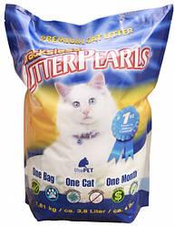 Litter Pearls ТРАКЛЕС (TrackLess) кварцевый наполнитель для туалетов котов 18.94л