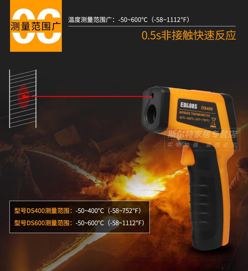 Ручний інфрачервоний лазерний термометр