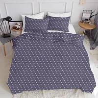 Комплект полуторного постельного белья LOVE PURPUR WHITE (хлопок, ранфорс), фото 1