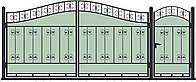 Ворота кованные, модель ВКГ-04