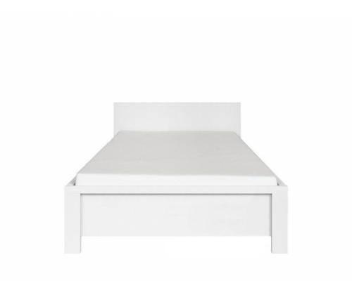 Ліжко LOZ 90 (каркас) Христина Білий/Білий глянець (БРВ-Україна ТМ)