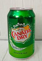 Безалкогольный напиток Canada Dry Ginger Ale 330мл (Дания)