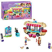"Конструктор (Аналог Лего Френдс Lego Friends 41129) Bela 10559 ""Парк развлечений: фургон с хот-догами"", 249 дет"