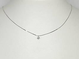 Золоте кольє з діамантами. Артикул 85065/1 40