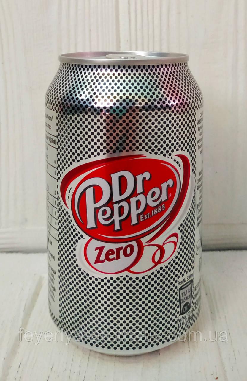 Газированный напиток Dr. Pepper Zero 330мл (Испания)