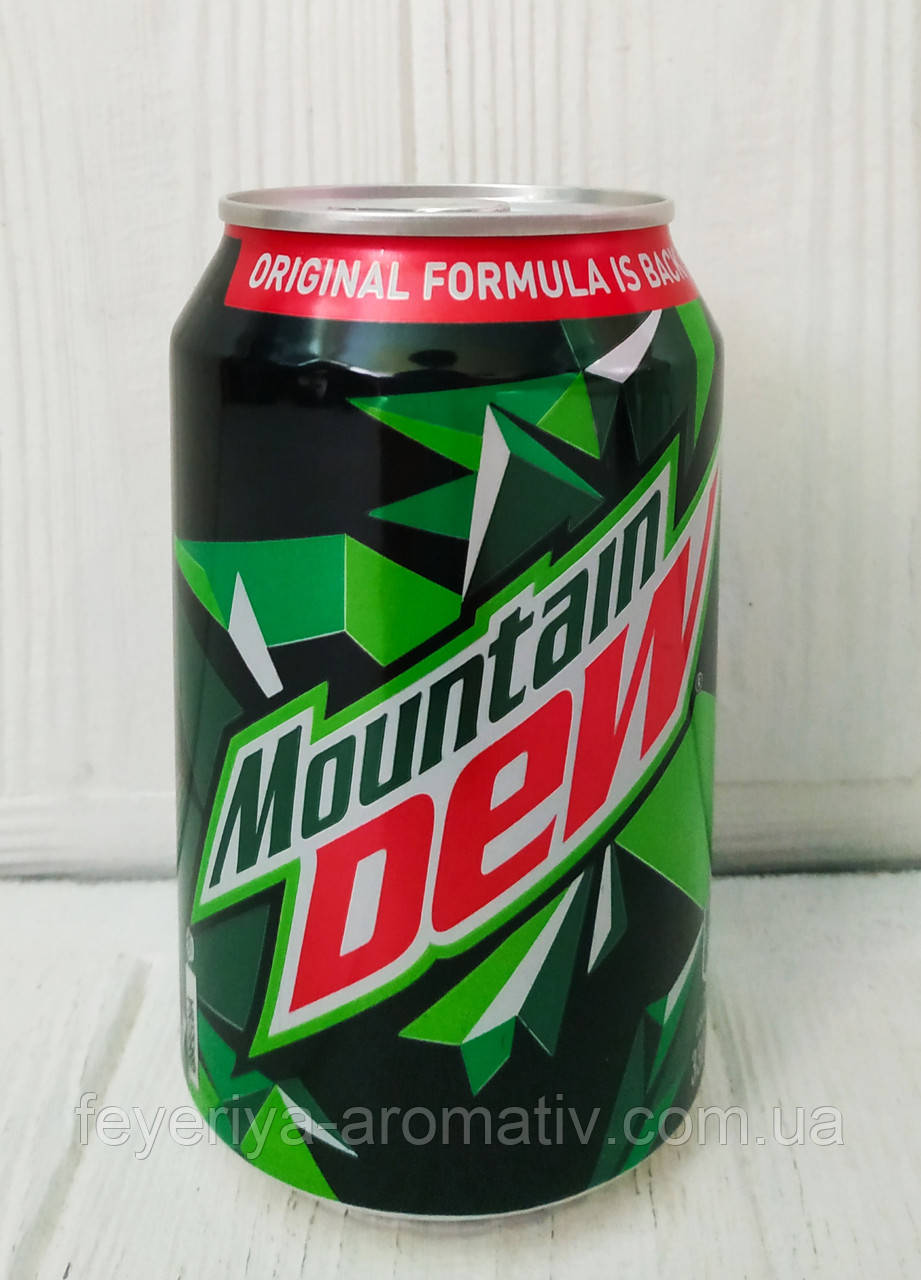 Напиток газированный Mountain Dew 330мл (Польша)