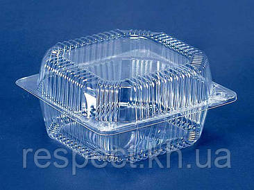 Пластиковый контейнер ПС-11 (V1250мл\155*155*80) (50 шт)