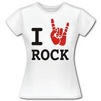 """Футболка """"Rock girl"""""""