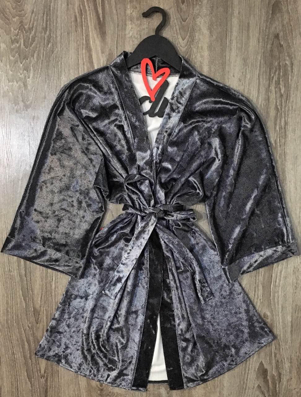 Велюровый халат женский ТМ Exclusive 022.